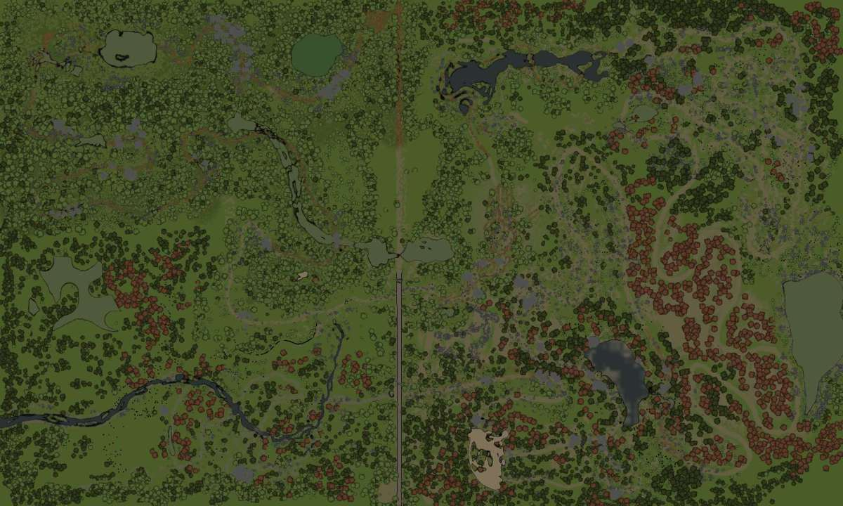 Spintires Map - Monkey Trails